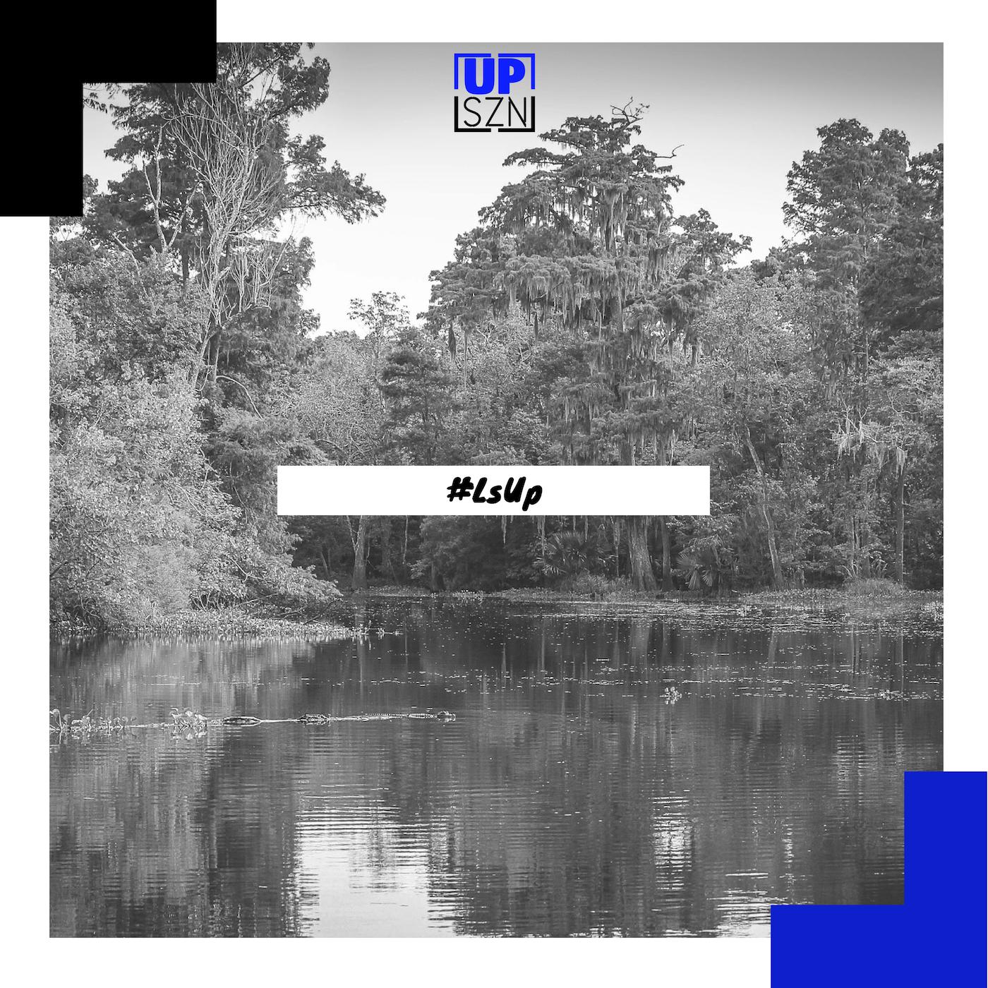 "Up SZN ""#LsUp"" Spotify playlist graphic"